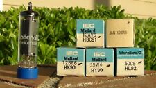 AA5-NOS/NIB Mullard/RCA Tube Set 12AV6, 12BA6, 12BE6, 35W4, 50C5-Free Shipping
