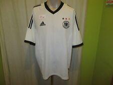 """L'ALLEMAGNE """"écusson"""" Nº 43 Original Adidas Coupe du Monde maillot 2002 taille XL"""