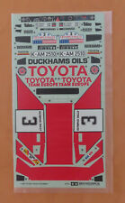 RC Tamiya Decal Toyota Celica Gr.B Rally 58064 NEU NIB 1987