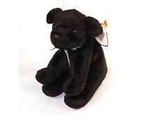 TY Beanie Baby Original Luke Black Lab Dog Retired 1999 Multiple Tag Errors
