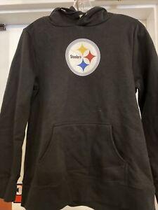 Pittsburgh Steelers Youth Hoodie Sweatshirt Size Medium NWT With Back Print #19