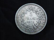 pièce argent 5 francs 1873 A