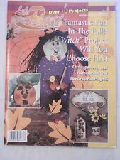 Let's Paint Vol XXV folk art tole painting pattern fall halloween autumn