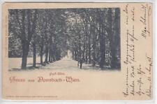 AK Wien XVII, Dornbach, Park-Allee, 1898