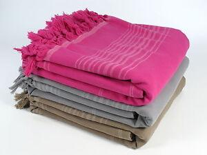 New COLORS Turkish Terry Towel Peshtemal Bath SPA Beach Hammam  100% Cotton
