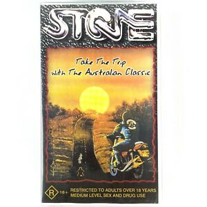 STONE Iconic Australian 1974 Biker Outlaw VHS Video Tape RARE Collectable