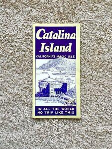 Santa Catalina Island: 1930s California's Magic Isle Brochure - Photos & Info