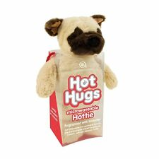 Aroma Home Hot Hugs Hottie Pug Blanda Juguete Con Lavanda Microweavable Barriga