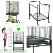 """New listing Zeny 53"""" Rolling Bird Cage Large Wrought Iron Cage For Cockatiel Sun Conure Para"""