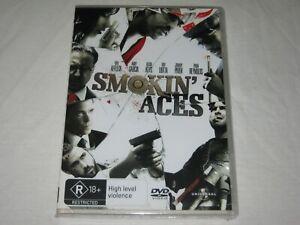 Smokin' Aces - Ben Affleck - Brand New & Sealed - Region 4 - DVD