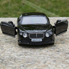 Bentley Continental Model Cars 5 inch Toys Open Two Doors Gift Alloy Diecast New