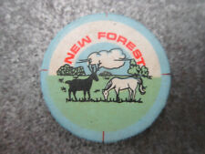 New Forest Pin Badge Button (L7B)