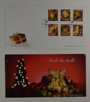 2007 GUERNSEY 3 PRESENTATION PACK FOLDERS FDC LOT 299*
