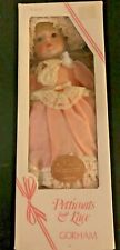 """Vintage Musical Doll Gorham Petticoats & Lace """"Lara"""" New in Box"""