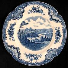 Johnson Brothers OLD BRITAIN CASTLES BLUE Dessert Plate England GREAT CONDITION