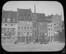 Glass Magic lantern slide NUREMBERG NO14 C1910  BAVARIA GERMANY Nürnberg
