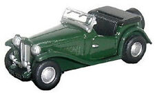 MG TC British Racing Green OO Oxford Die-cast 76MGtc001