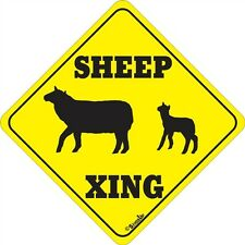 Sheep Xing Sign