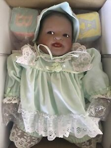 RETIRED & RARE Ashton Drake Doll*African American Ethnic Baby Shawna By Yolanda