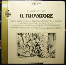 Il Travatore: Fernando Previtali (sealed) 3 record BOX SET-LAURI VOLPI-Tagliabue