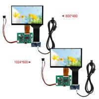 7inch Raspberry Pi 3 LCD Display 800*480/1024*600 HDMI VGA Monitor Screen Kit