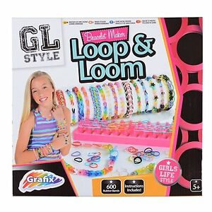 Loop ''n'' Loom Bracelet Maker Kit with 600 Bands