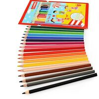 STABILO Trio Thick Triangular Colouring Pencils - Mixed Colours - Pack of 18