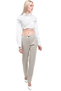 RRP €200 PME PESERICO Chino Trousers Size 42 S Stretch Garment Dye Made in Italy