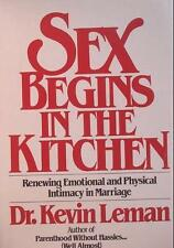 Sex begins in the kitchen: Renewing emotional and