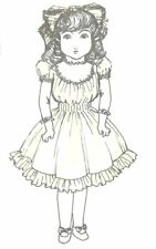 """18-20"""" Doll Dress Pattern Ag Victorian German French Antique vintage look"""