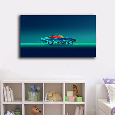 40×70×3cm Abstract Car Canvas Prints Framed Wall Art Home Decor Painting Gift