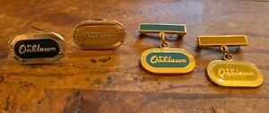Lot of 4 OAKLAWN PARK Jockey Club Horse Racing Pins: 1990, 1991, 1992 (2 Pins)