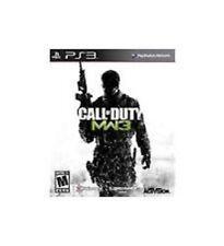 Call Of Duty Modern Warfare 3 GAME Sony Playstation 3 PS PS3 COD MW3