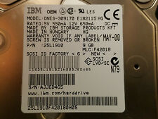 DNES-309170  9 GB  LVD/SE 68 pin SCSI