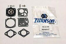 New OEM Tillotson RK-21HS Chainsaw Carburetor Kit for Stihl 041