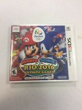 Mario & Sonic at the Rio 2016 Olympic Games (Nintendo 3DS, 2016) BRAND NEW SEALD