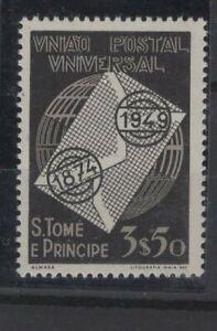 PORTUGAL & COLONIES, S. TOME E PRINCIPE STAMPS, 1949, Mi. 363 **.