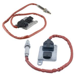 2PCS Front + Rear Nox Sensor for BMW F30 328d Base Sedan 4-Door 2.0L 13627812530