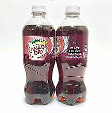 Canada Dry Black Cherry Wishniak Soda 6 Pack