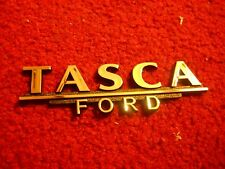 FORD MUSTANG SHELBY FAIRLANE TORINO GALAXIE TASCA FORD NY TRUNK DECKLID EMBLEM