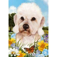 Summer Garden Flag - Mustard Dandie Dinmont Terrier 182101