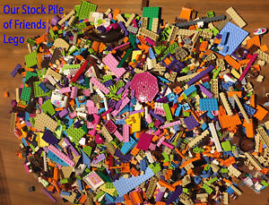 LEGO Friends - 500g of Bricks Plates Parts 1/2 KG Bundle - Free TRACKED Postage