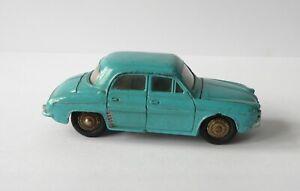 DINKY MECCANO RENAULT DAUPHINE. 24E. RARE BLUE COLOUR. 1950's. FRENCH.