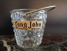 seau à glace Long John en verre art-déco vintage CERAMIC by PN