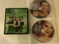 'SEX AND THE CITY' Season 3 Region 3 - 3 Disc DVD - Sarah Jessica Parker - New