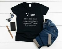 V-neck Mom Definition T Shirt Mama Bear Tee Funny Mothers Day Gift Mom Life