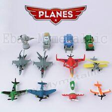12pcs Set Disney Planes Dusty Skipper Leadbottom Dottie Chug 3-6cm PVC Figure