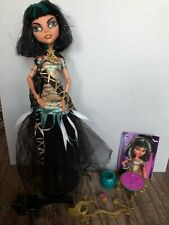 Monster High Cleo De Nile Ghouls Rule With Accessories Complete.