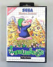 SEGA Master System LEMMINGS dt. PAL Ovp