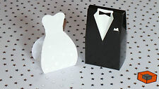 Bride & Groom  Wedding Favour Boxes *** Guest Gifts Table Decoration ***